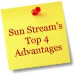 Sunstream Advantages
